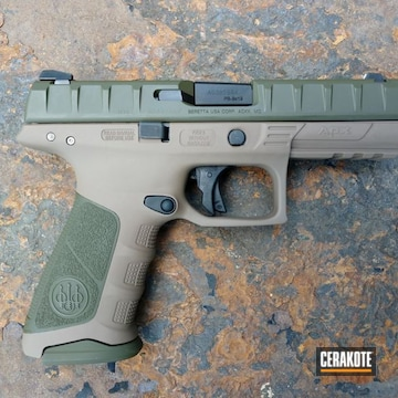 Cerakote Two Tone Beretta 9mm