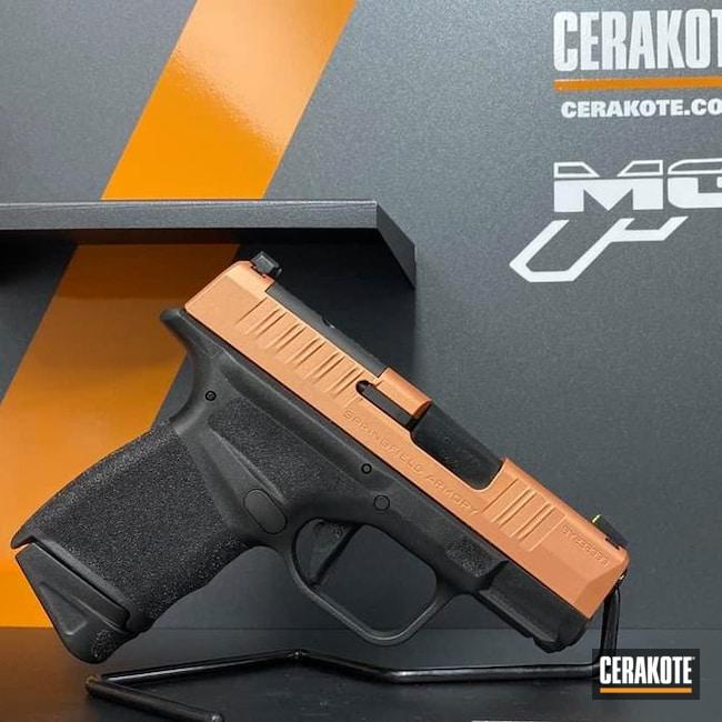 Cerakoted Springfield Hellcat Handgun In H-347