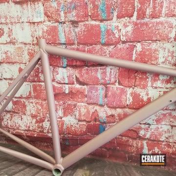 Cerakoted Carbon Fiber Bike Frame In H-311