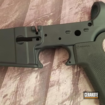 Cerakoted Ar Lower In H-188