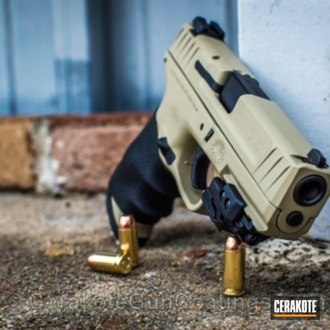 Cerakoted: Desert Sage H-247,Graphite Black H-146,Smith & Wesson,Handguns
