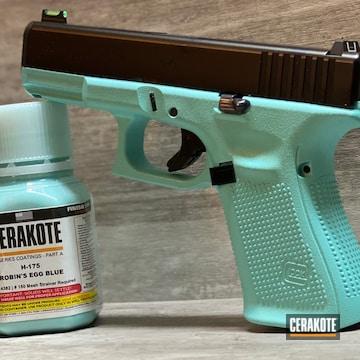 Cerakoted Glock 19 Gen 5 In H-175