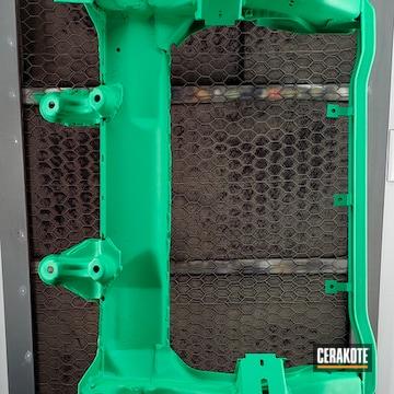 Cerakoted Nissan Subframe In C-8100