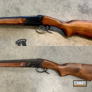 Cerakoted Restored Remington Baikal Shotgun In E-110