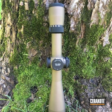 Cerakoted Refinished Leupold Scope In H-148