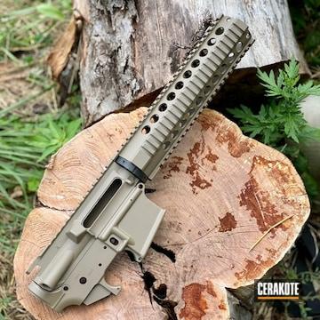 Cerakoted Ar Rifle Build In H-267