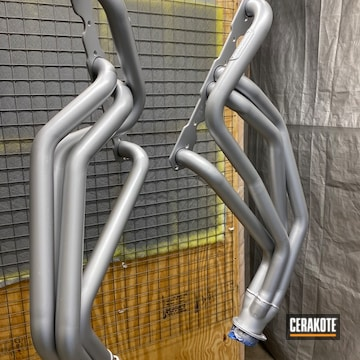 Cerakoted Chevy Headers In C-7700