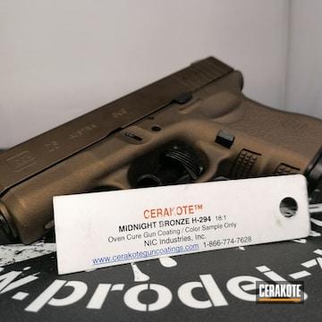 Cerakoted Glock 26 In H-294