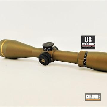 Cerakoted Leupold Scope In H-148