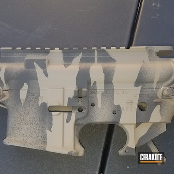 Ar Parts Coated Using Barrett® Brown And Blackout