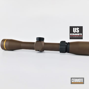Leupold Scope Done In Barrett® Bronze