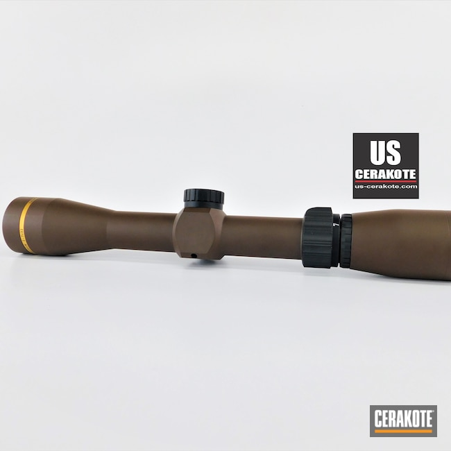 Cerakoted: S.H.O.T,Scope,BARRETT® BRONZE H-259,Leupold Scope,Freedom,Leupold