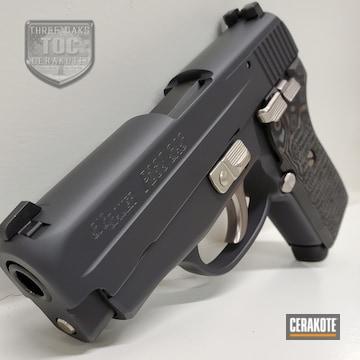 Sig Sauer P239 Cerakoted Using Sniper Grey