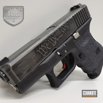 Glock Coated Using Tactical Grey And Graphite Black