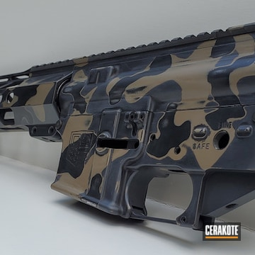 Ar Build Cerakoted Using Sniper Grey, Graphite Black And Magpul® Flat Dark Earth