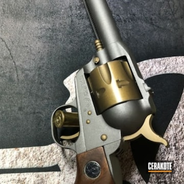 Custom Single Six Using Tungsten And Burnt Bronze