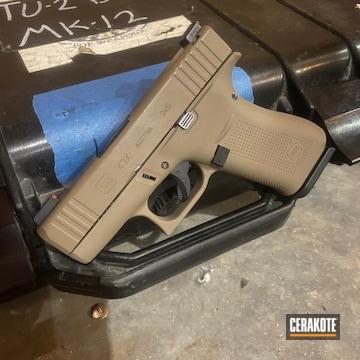 Cerakoted Glock 43x 9mm In H-265