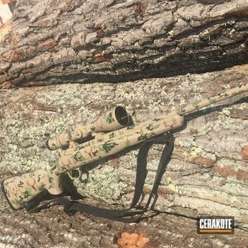 Cerakoted Custom Bolt Action Rifle