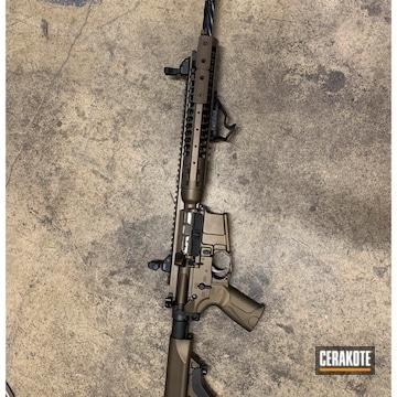 Cerakoted Lwrc Rifle In H-294