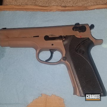 Cerakoted Smith & Wesson Model 915 9mm In H-269