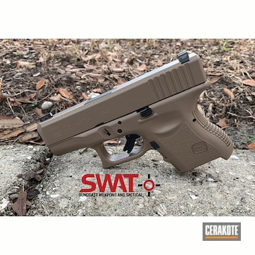 Cerakoted Glock 26 In E-170