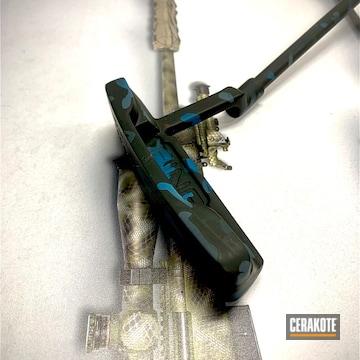 Cerakoted Multicam Ping Golf Putter