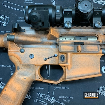 Cerakoted Custom Ar In H-309 And H-190