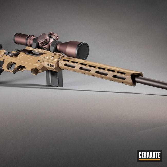 Cerakoted: S.H.O.T,Bolt Action Rifle,Cadex Defence,CADEX TAN H-308,Remington 700