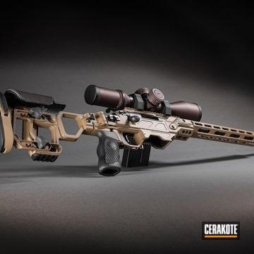 Custom Remington 700 Coated Using Cadex Tan