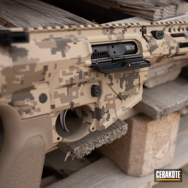 Cerakoted: S.H.O.T,MAGPUL® FLAT DARK EARTH H-267,SLR,Patriot Brown H-226,Camo,.223,BENELLI® SAND H-143,Arid,Maccabee Defense,CAD PAT,AR-15
