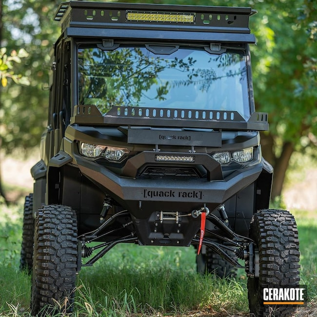Cerakoted: MAGPUL® O.D. GREEN C-232,Defender,Graphite Black C-102,4x4,SXS,ATV,Automotive,UTV,Outdoors,Can Am