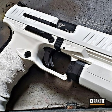 Walther Ppq Coated Using Snow White