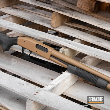 Mossberg 590 Coated Using Springfield® Fde
