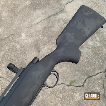 Multi-cam Remington 700 Coated Using Graphite Black