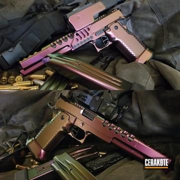 Sti Race Gun Cerakoted Using Graphite Black And High Gloss Clear
