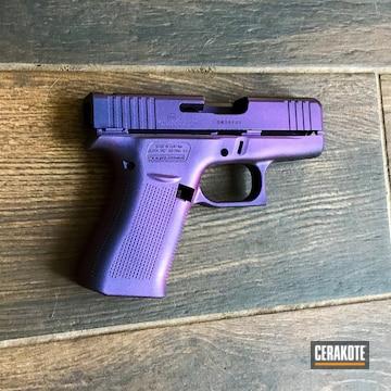 Glock Pistol Cerakoted Using Matte Armor Clear