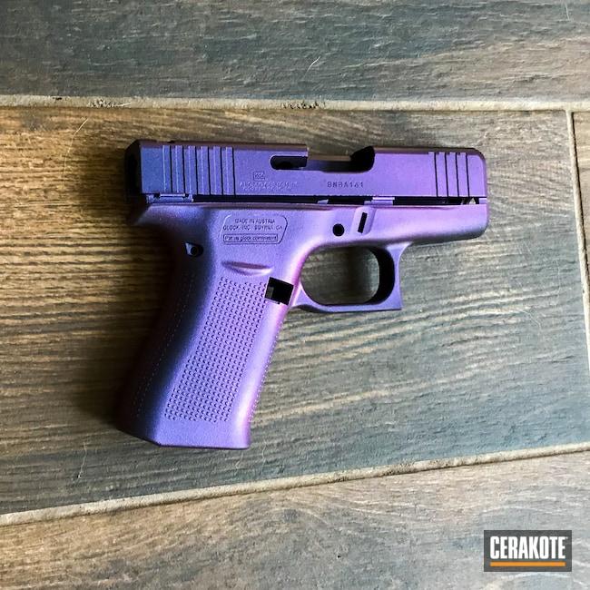 Cerakoted: S.H.O.T,MATTE ARMOR CLEAR H-301,Glock,GunCandy Mongoose