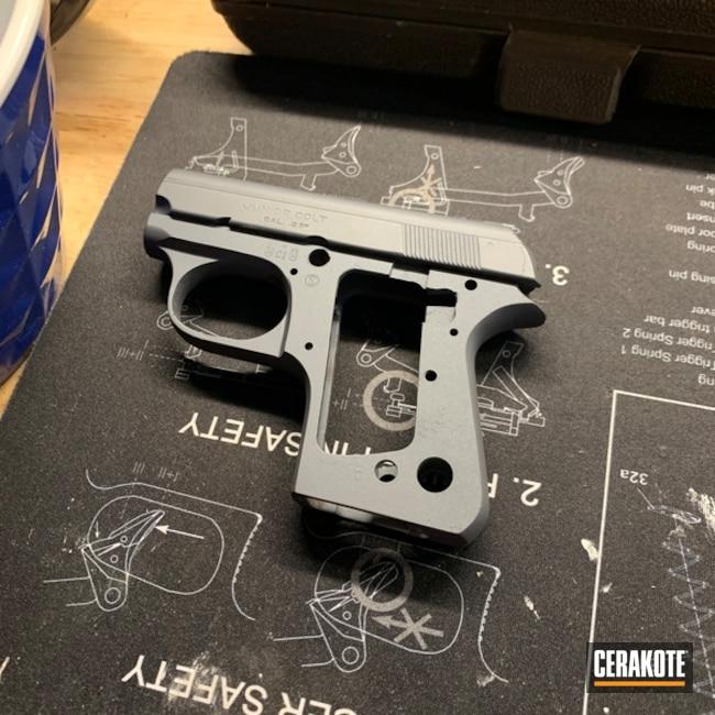 Colt Junior 25 Cerakoted Using Sniper Grey