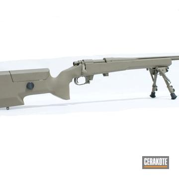 Remington 700 And Bi-pod Cerakoted Using Flat Dark Earth