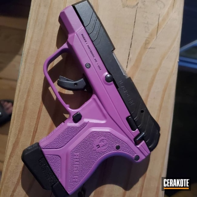 Ruger Lcp Ii Cerakoted Using Wild Purple