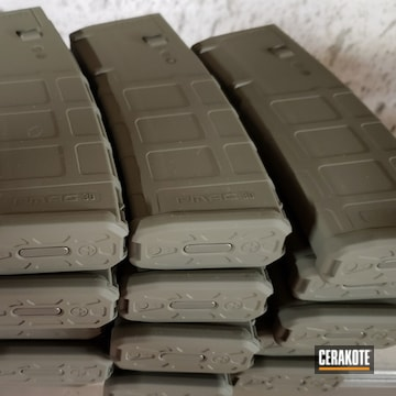 Magpul Pmag 30 Cerakoted Using Magpul® Foliage Green