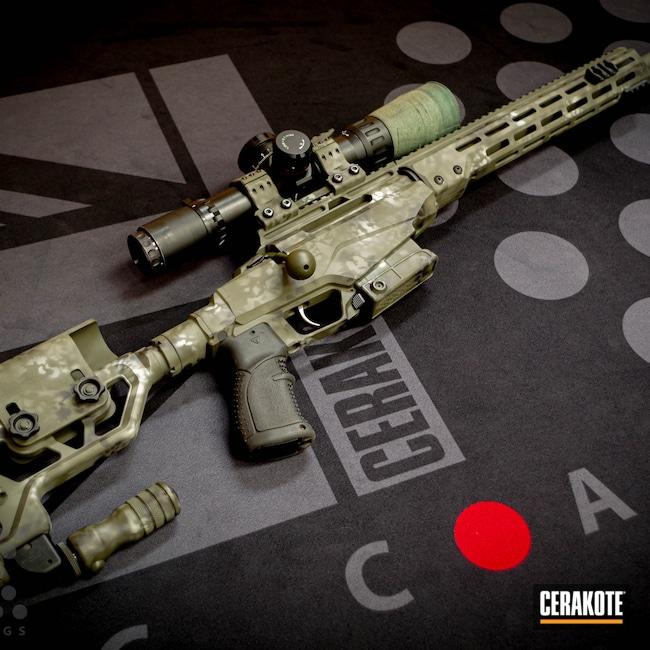 Cerakoted: S.H.O.T,Bolt Action Rifle,Desert Sage H-247,HAZEL GREEN H-204,Graphite Black H-146,O.D. Green H-236,6.5,Tikka TAC-A1,Tikka
