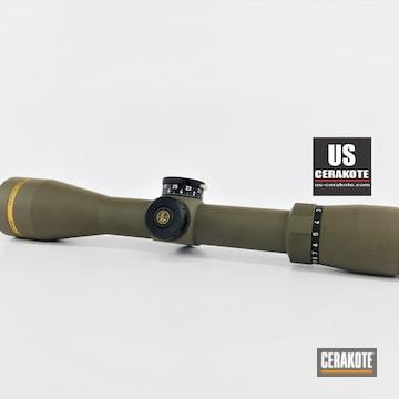 Leupold Scope Cerakoted Using Patriot Brown