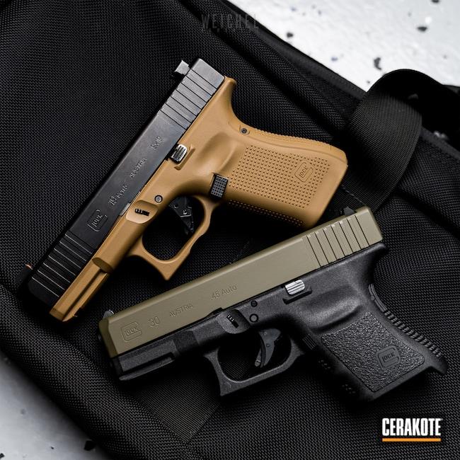 Cerakoted: S.H.O.T,FS FIELD DRAB C-30118,Glock,Mil Spec Green H-264