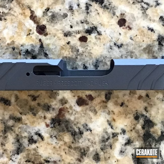 Cerakoted: S.H.O.T,Sniper Grey H-234,Ruger,Slide