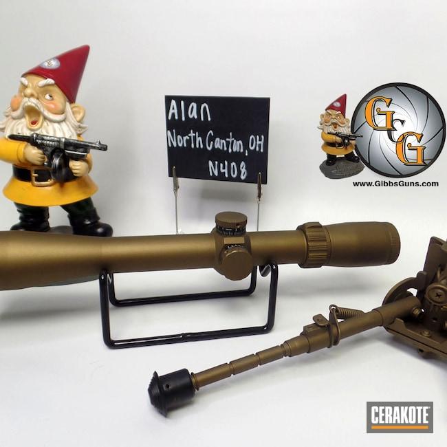 Cerakoted: S.H.O.T,Rifles,Vanguard,Christensen Arms,Weatherby Vanguard,Browning X-Bolt,Harris,Go Wild,Scope,Scopes,Burnt Bronze H-148,Bipod,Leupold