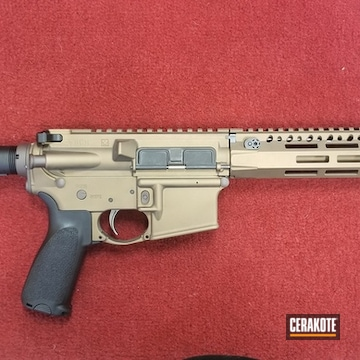 Bcm Ar Cerakoted Using Vortex® Bronze And Burnt Bronze