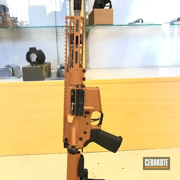 Custom Ar-15 Cerakoted Using Copper