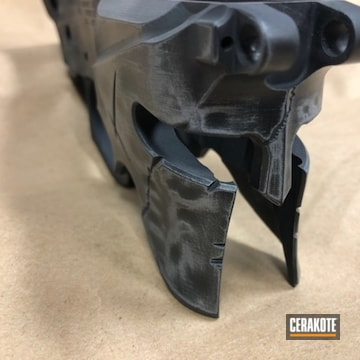 Rainier Arms Ar Lower Cerakoted Uing Graphite Black