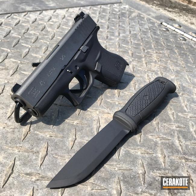Cerakoted: S.H.O.T,Tungsten H-237,Glock,Knife,Glock 43